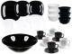 Набор столовой посуды Luminarc Carine Black/White P4676 -