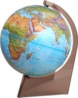 Глобус Глобусный мир Физико-политический рельефный с подсветкой / 10290 (21см) -