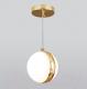Потолочный светильник Elektrostandard DLN050 GX53 (белый/золото) -