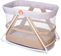 Кровать-манеж Babyhit Rocking Crib (бежевый) -