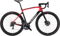 Велосипед Wilier 101NDR Ulltegra 8000 Aksium / R101NDRBLACKRED (XL) -