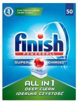 Таблетки для посудомоечных машин Finish All in One без запаха (50шт) -