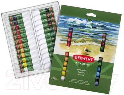 Акварельные краски Derwent Academy 98222 (24шт)