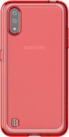 Чехол-накладка Araree A Cover для Galaxy A01 / GP-FPA015KDARR (красный) -