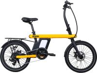 Электровелосипед Bearbike Vienna 20 2020 / RBKB0Y607001 (жетлый) -