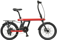 Электровелосипед Bearbike Vienna 20 2020 / RBKB0Y607003 (красный) -