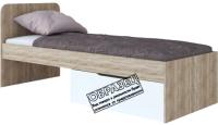 Односпальная кровать Артём-Мебель СН 120.02-800 (дуб санома) -