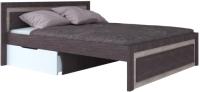 Двуспальная кровать Артём-Мебель СН 120.03-1600 (ясень анкор светлый/ясень анкор темный) -