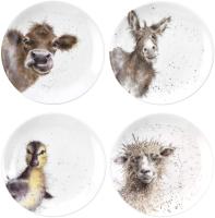 Набор тарелок Portmeirion Wrendale Designs / WN4093-XW (4шт) -