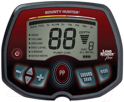 Металлоискатель Bounty Hunter Land Ranger Pro / ProLR