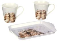 Набор для чая/кофе Portmeirion Wrendale Designs Совы / X0011658893 -