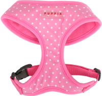 Шлея-жилетка для животных Puppia Dotty / PAHA-AC301-PK-S (розовый) -