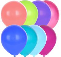 Набор воздушных шаров KDI Декор / DA2-12-100 (в ассортименте, 100шт) -