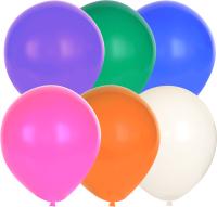 Набор воздушных шаров KDI Стандартные микс / SM2-12-100 (в ассортименте, 100шт) -