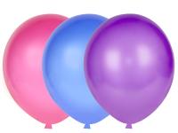 Набор воздушных шаров KDI Металлик / MA-12-50 (в ассортименте, 50шт) -