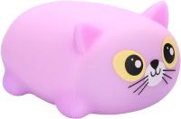 Сквиш Happy Baby Soft&Joy Котик / 330374 (фиолетовый) -