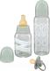 Набор бутылочек для кормления Happy Baby Newborn Box By Alena Akhmadullina / 15059 (Sage) -