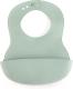 Нагрудник детский Happy Baby Plastik Bib / 16000 (темно-зеленый) -