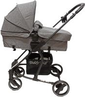 Детская универсальная коляска Teddy Bear SL 461 2 в 1 (серый) -