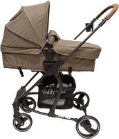 Детская универсальная коляска Teddy Bear SL 461 2 в 1 (бежевый) -