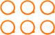 Набор прокладок для банок Kilner Clip Top K 0025.501V (6шт) -