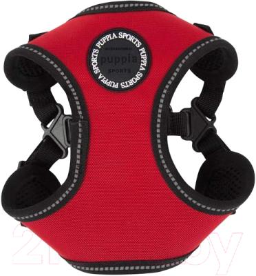 Шлея-жилетка для животных Puppia Trek / PLRA-HC9323-RD-L (красный)