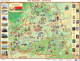 Настенная карта Белкартография Мая Радзіма – Беларусь (ламинированная с держателями) -