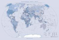 Настенная карта Белкартография Палітычная 100х70см (ламинированная) -