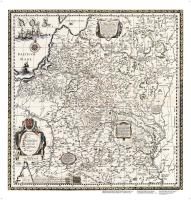Настенная карта Белкартография Великое Княжество Литовское XVI в. (ламинированный) -