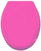 Сиденье для унитаза Europlast Океан 104-407-00-03 (жесткое, розовый) -