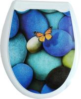 Сиденье для унитаза Europlast Бабочка 104-406-00 (жесткое) -