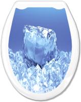 Сиденье для унитаза Europlast Кристалл 104-406-00 (жесткое) -