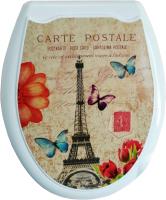 Сиденье для унитаза Europlast Париж 104-406-00 (жесткое) -