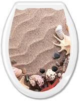 Сиденье для унитаза Europlast Песок 104-406-00 (жесткое) -