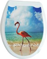 Сиденье для унитаза Europlast Фламинго 104-406-00 (жесткое) -