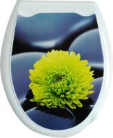 Сиденье для унитаза Europlast Цветок 104-406-00 (жесткое) -