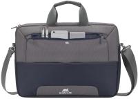 Сумка для ноутбука Rivacase 7737 (стальной синий/серый) -