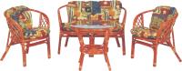 Комплект садовой мебели Мир Ротанга Багама 01/17 стол, диван, два кресла (коньяк) -