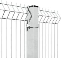 3D панель заборная Lihtar 1530х2500мм 3/4мм 200/50 Оц (металик) -