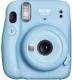 Фотоаппарат с мгновенной печатью Fujifilm Instax Mini 11 (Sky Blue) -