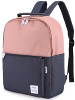 Рюкзак Himawari HW-0511 (темно-синий/розовый) -