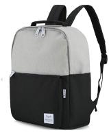Рюкзак Himawari HW-0511 (серый/черный) -