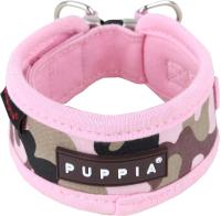 Ошейник Puppia Legend / PAPA-NC1310-PC-S (розовый камуфляж) -