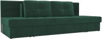 Диван Лига Диванов Дублин 226 / 104113 (велюр зеленый) -