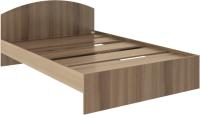 Полуторная кровать Rinner Веста 140x200 (шимо темный) -