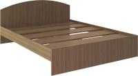 Двуспальная кровать Rinner Веста 160x200 (шимо темный) -