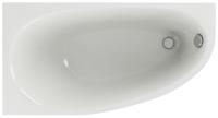 Ванна акриловая Aquatek Дива 170x90 L (с ножками и экраном) -
