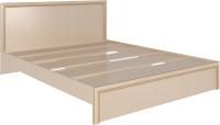 Двуспальная кровать Rinner Беатрис М06 160x200 (дуб млечный) -