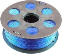 Пластик для 3D печати Bestfilament PET-G 1.75мм 500г (голубой флуоресцентный) -
