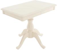 Обеденный стол Аврора Фабрицио Мини-1 90x60 (тон 10/слоновая кость) -